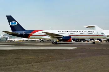 N958PG - TransMeridian Airlines Boeing 757-200