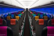New Small Planet Airlines interior title=