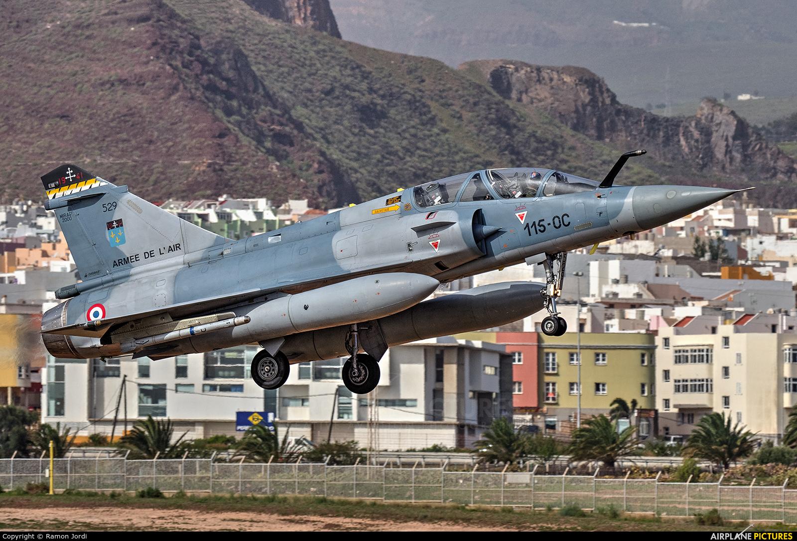 France - Air Force 529 aircraft at Las Palmas de Gran Canaria
