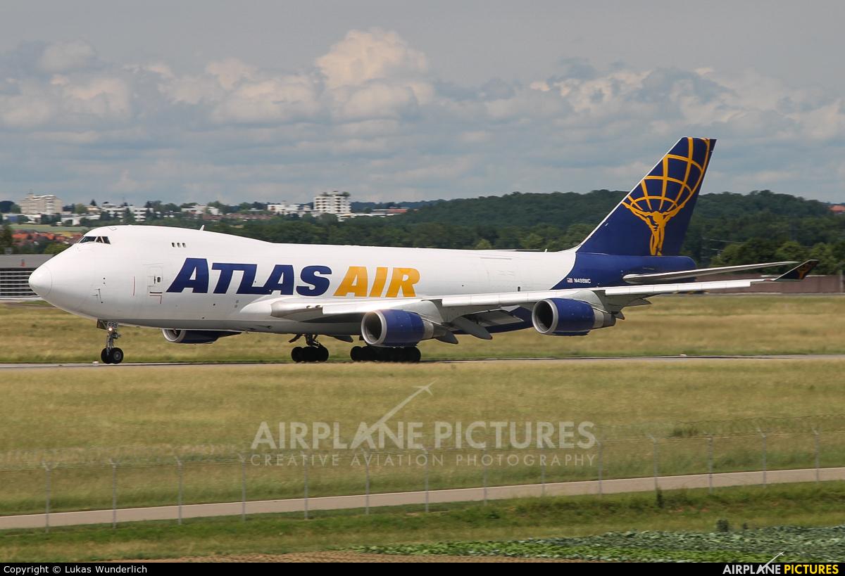 Atlas Air N498MC aircraft at Stuttgart