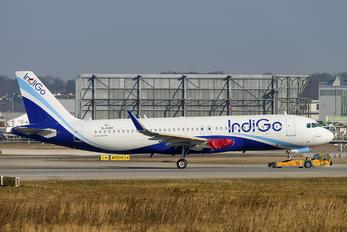 D-AUBT - IndiGo Airbus A320 NEO
