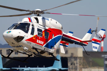 JA6848 - Japan - Fire and Disaster Management Agency Kawasaki BK117