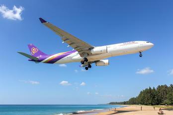 HS-TET - Thai Airways Airbus A330-300