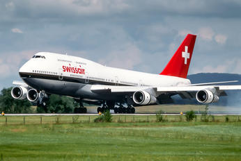 HB-IGF - Swissair Boeing 747-300