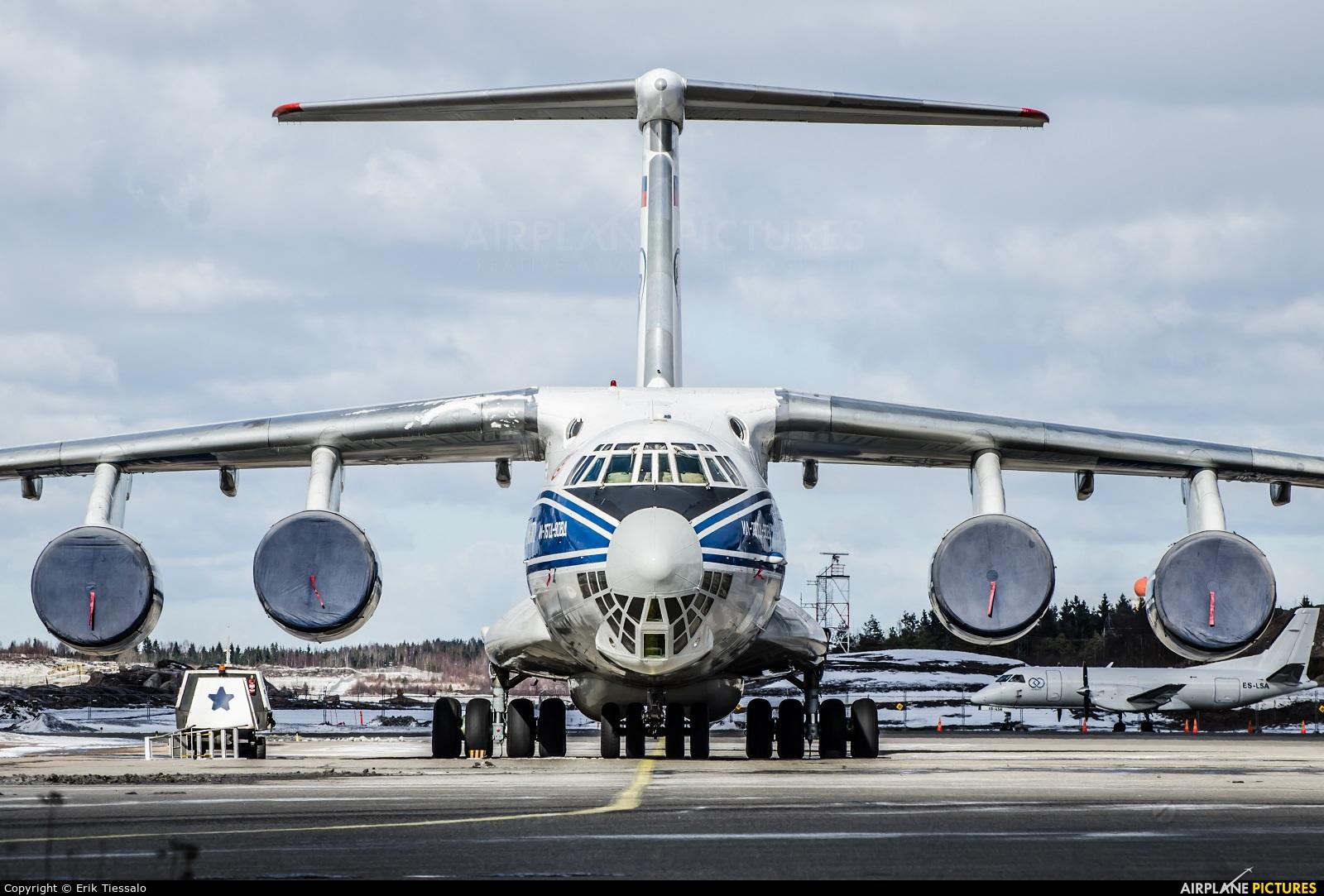 Volga Dnepr Airlines RA-76952 aircraft at Helsinki - Vantaa