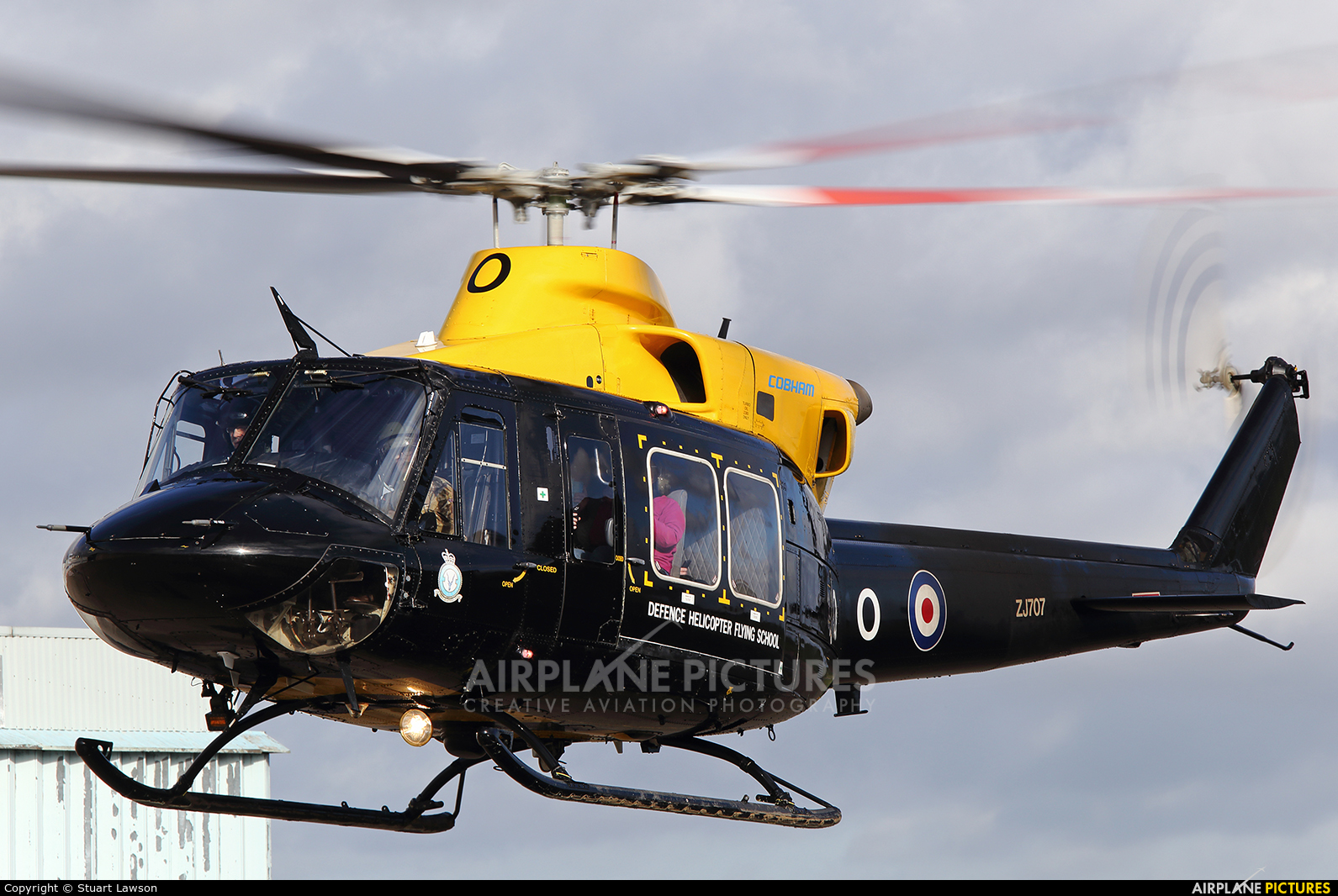 Royal Air Force ZJ707 aircraft at East Midlands