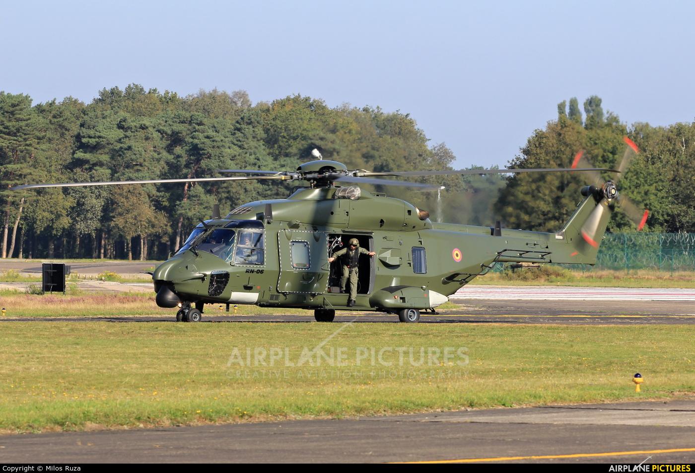 Belgium - Air Force RN-06 aircraft at Kleine Brogel