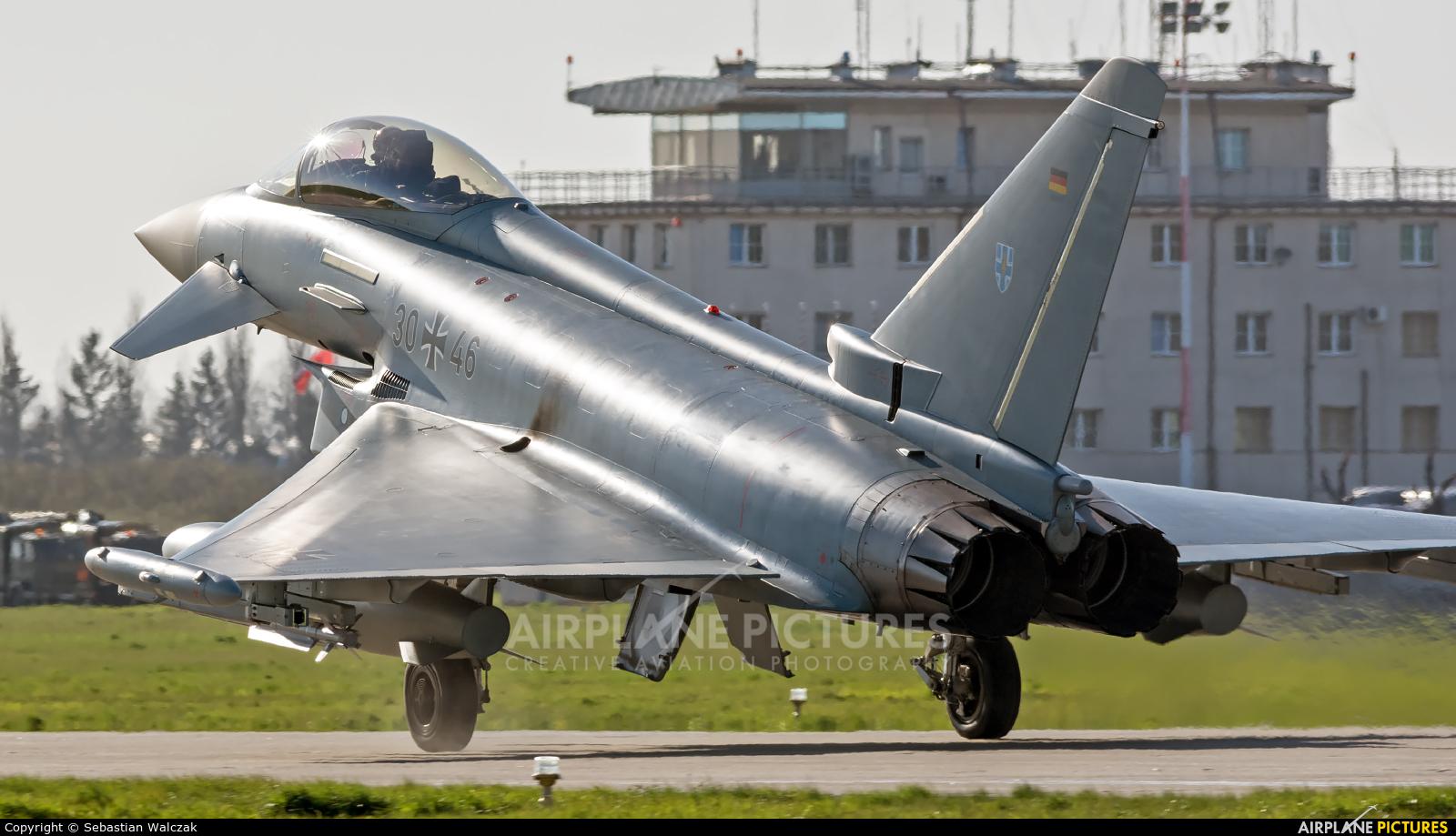 Germany - Air Force 30+46 aircraft at Malbork