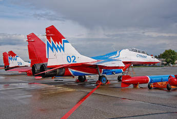 02 - Russia - Air Force Mikoyan-Gurevich MiG-29UB