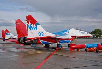 02 - Russia - Air Force Mikoyan-Gurevich MiG-29UB