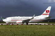 TS-IOO - Tunisia - Government Boeing 737-700 BBJ aircraft