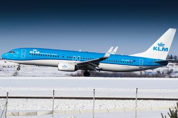 PH-BXD - KLM Boeing 737-800