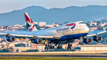 G-CIVE - British Airways Boeing 747-400 aircraft