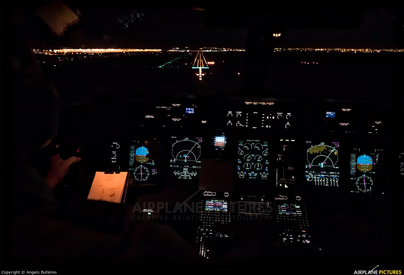 United Express N346NG aircraft at In Flight - Colorado
