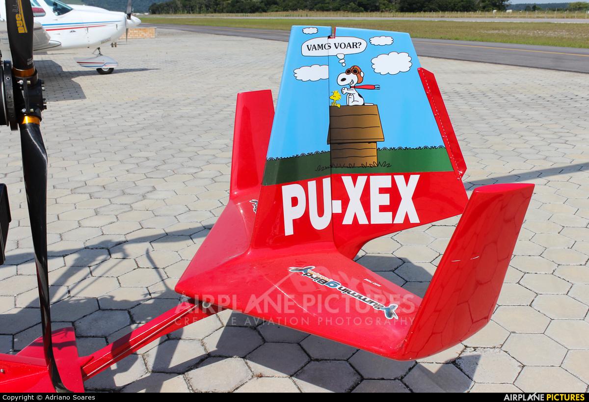 Private PU-XEX aircraft at Costa Esmeralda