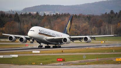 9V-SKT - Singapore Airlines Airbus A380