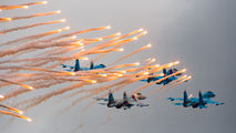 """- - Russia - Air Force """"Falcons of Russia"""" Sukhoi Su-27 aircraft"""