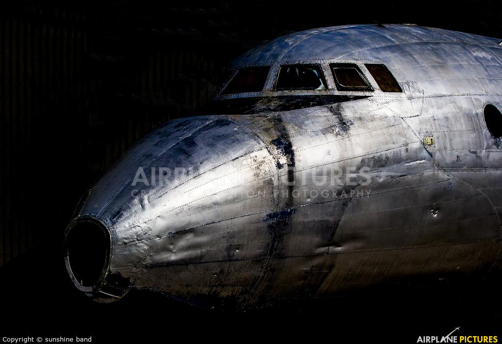 Avro WB491 aircraft at Newark Air Museum