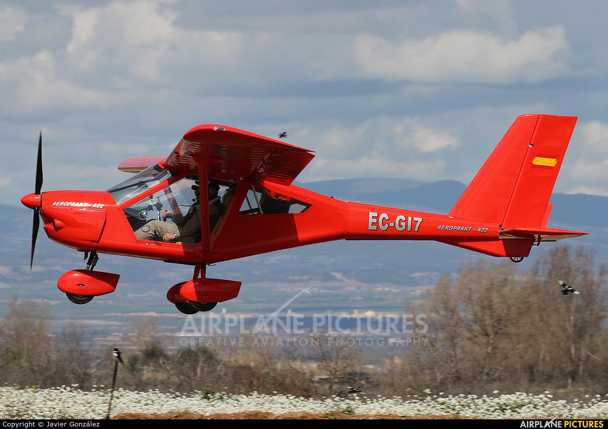 Private EC-GI7 aircraft at Mollerussa