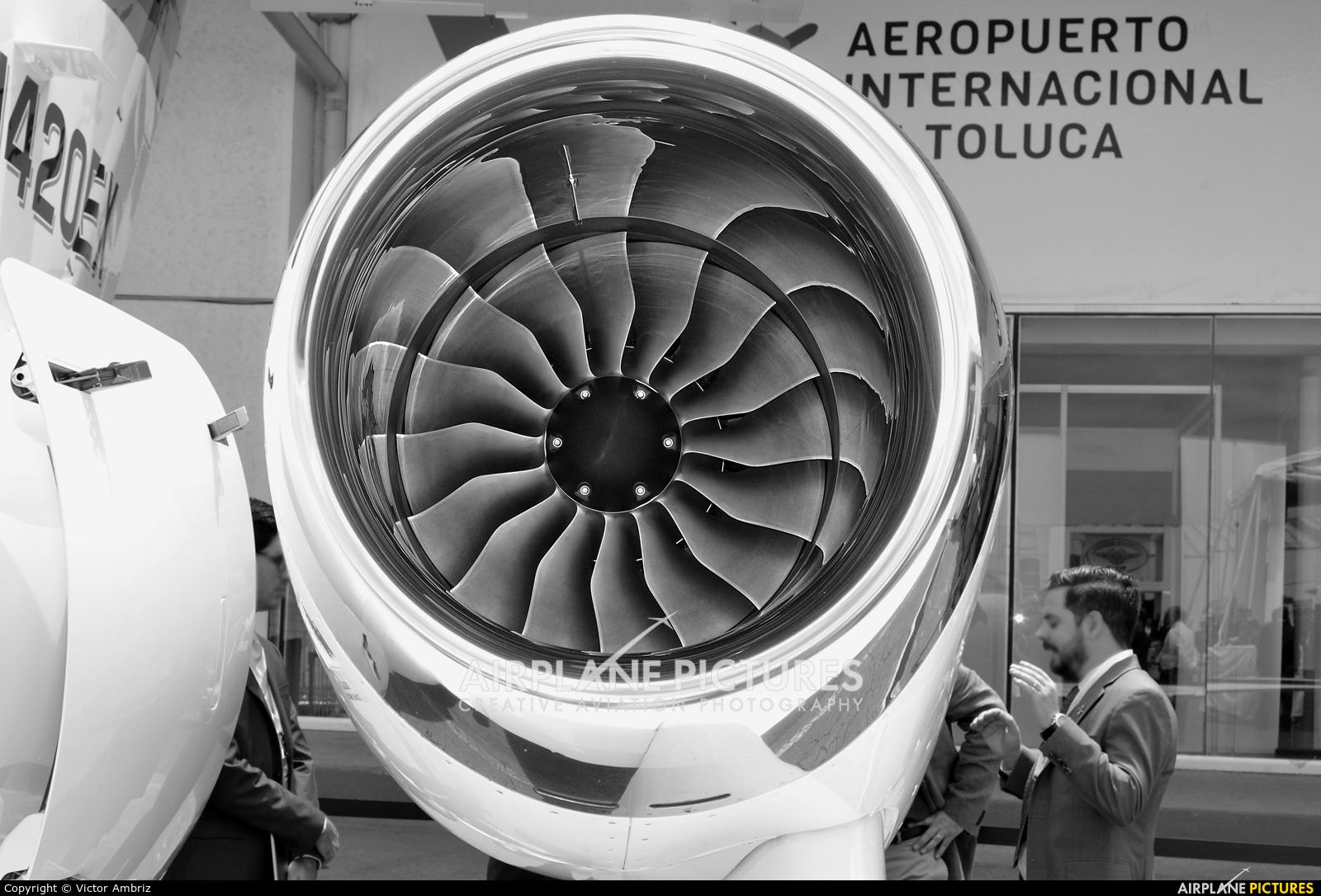 Honda Aerospace N420EX aircraft at Toluca Intl