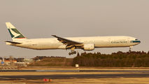 B-HNO - Cathay Pacific Boeing 777-300 aircraft