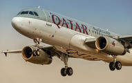 A7-AHJ - Qatar Airways Airbus A320 aircraft