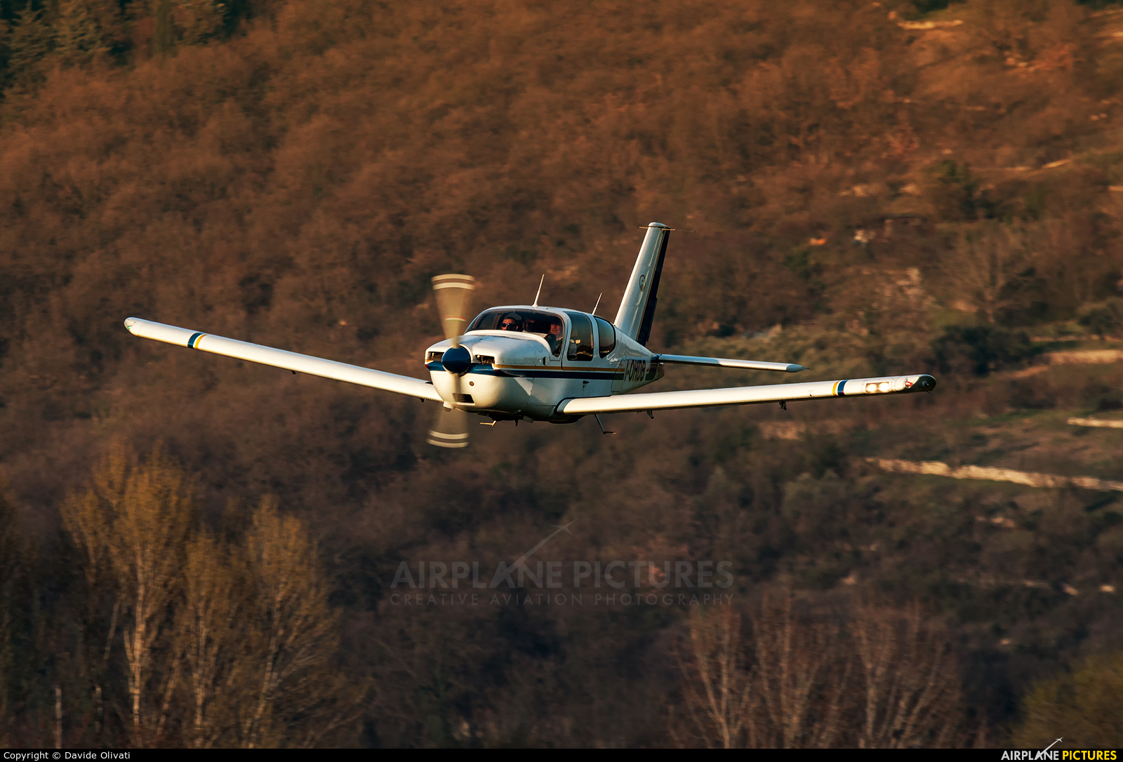 Private I-OHDB aircraft at Verona - Boscomantico
