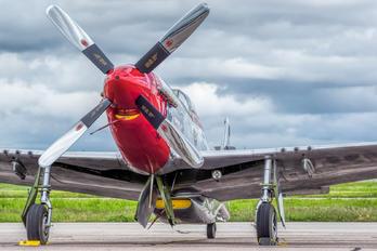 N11636 - Private North American P-51D Mustang