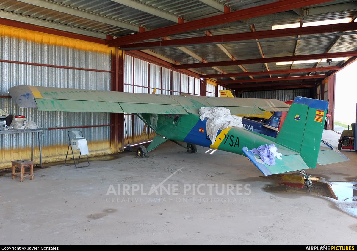 Private EC-YSA aircraft at Mollerussa