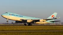 HL7602 - Korean Air Cargo Boeing 747-400F, ERF aircraft