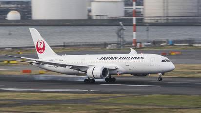 JA829J - JAL - Japan Airlines Boeing 787-8 Dreamliner