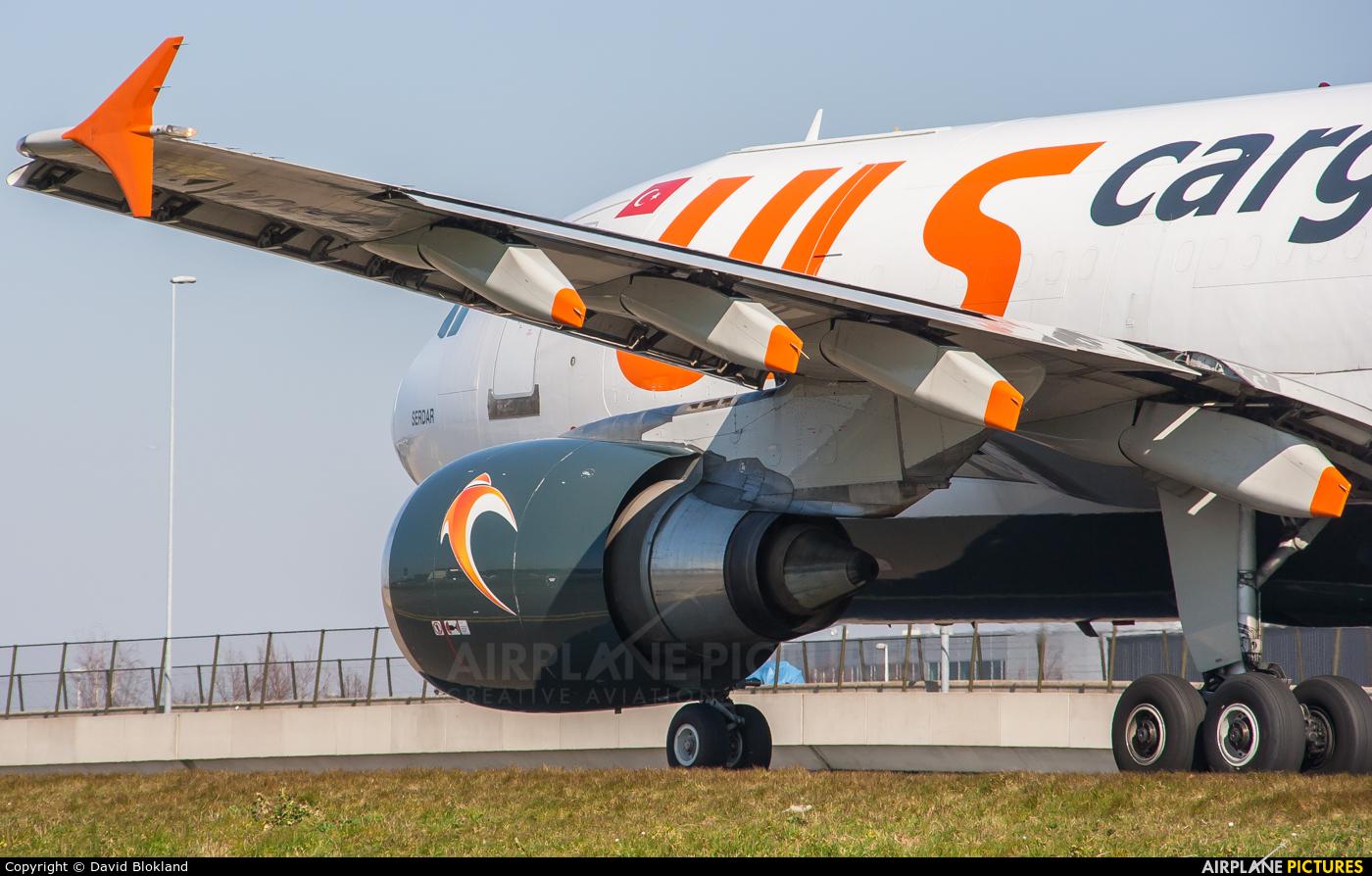 ULS Cargo TC-SGM aircraft at Amsterdam - Schiphol