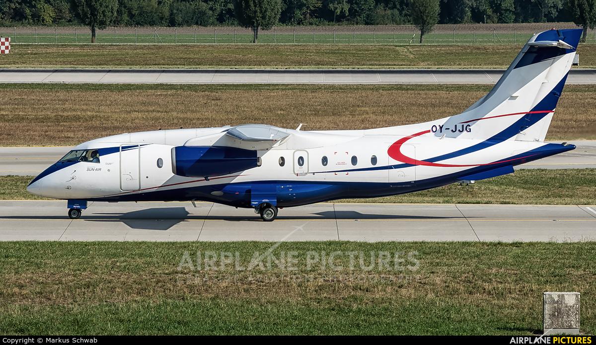 Sun Air OY-JJG aircraft at Munich
