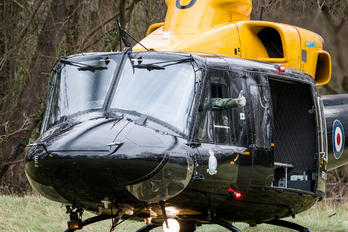 ZJ707 - Royal Air Force Bell 412EP Griffin HT.1