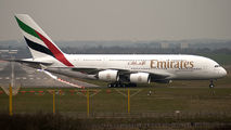 F-WWSJ - Emirates Airlines Airbus A380 aircraft