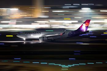N393HA - Hawaiian Airlines Airbus A330-200