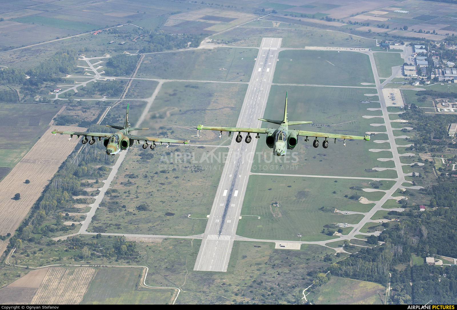 Bulgaria - Air Force 246 aircraft at Graf Ignatievo