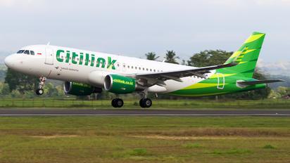 PK-GQM - Citilink Airbus A320