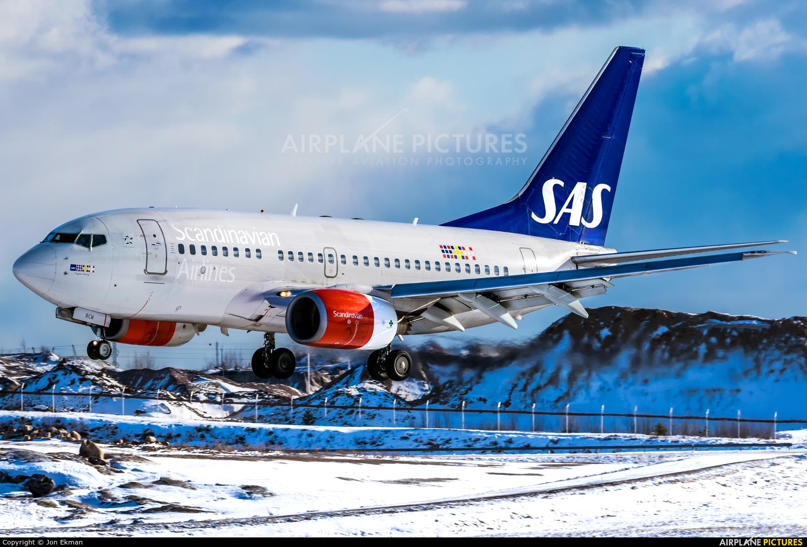 SAS - Scandinavian Airlines LN-RCW aircraft at Helsinki - Vantaa