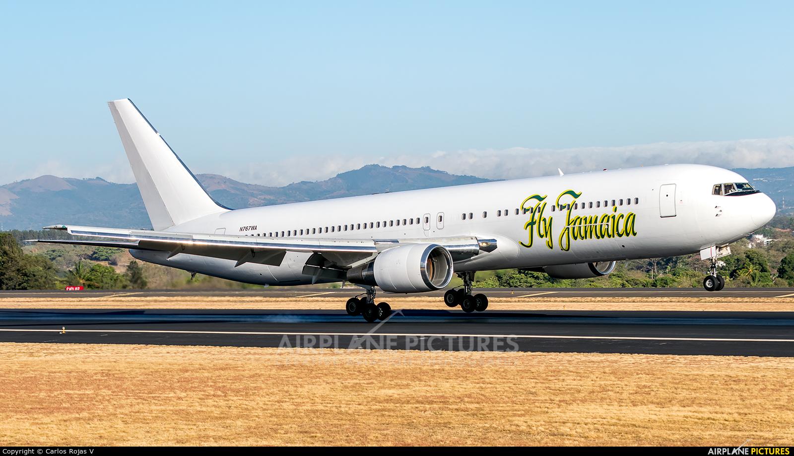 Fly Jamaica N767WA aircraft at San Jose - Juan Santamaría Intl