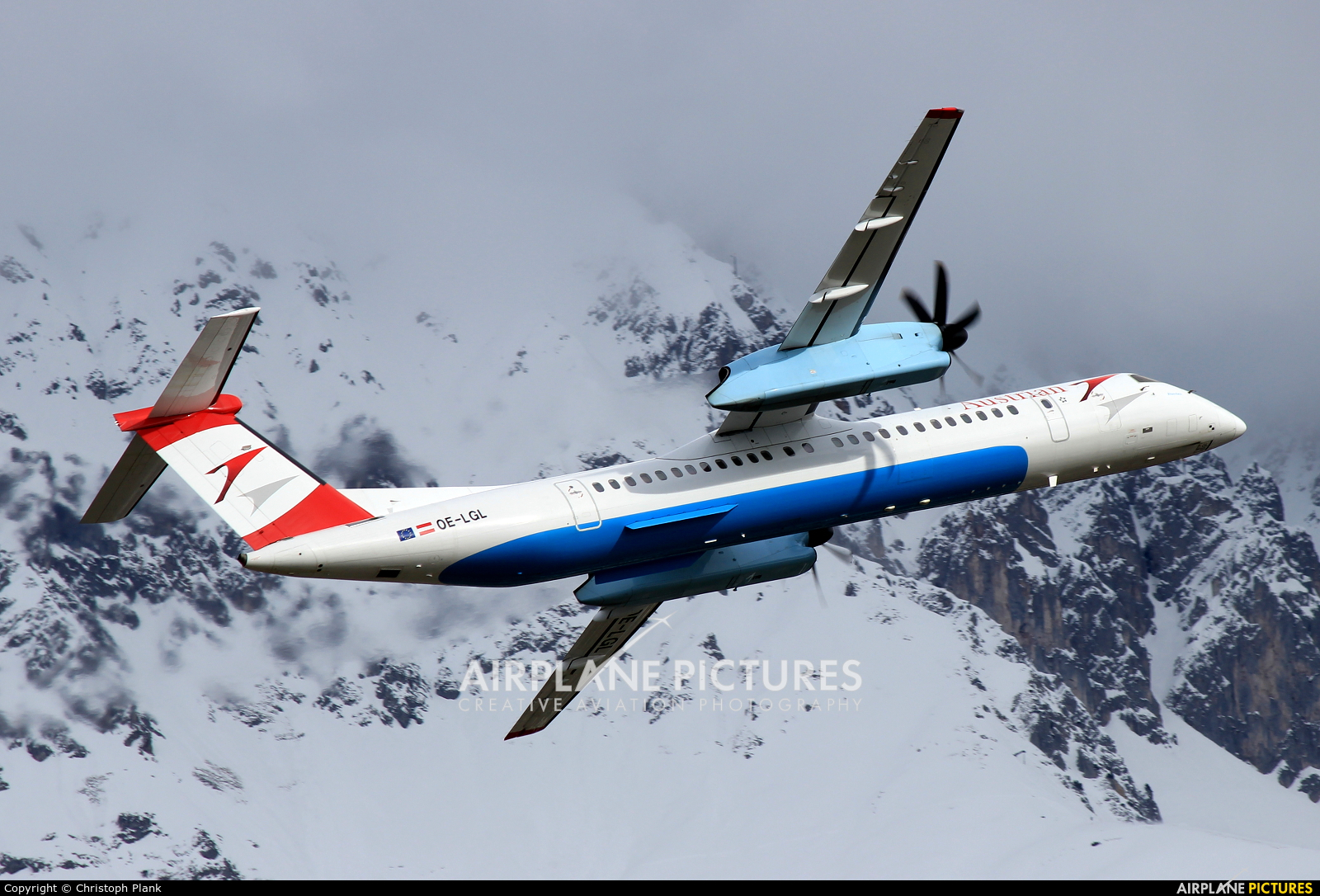 Austrian Airlines/Arrows/Tyrolean OE-LGL aircraft at Innsbruck