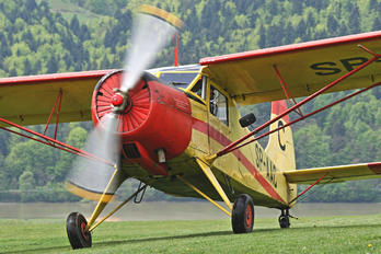 SP-AAC - Mountain Glider School ŻAR Yakovlev Yak-12A