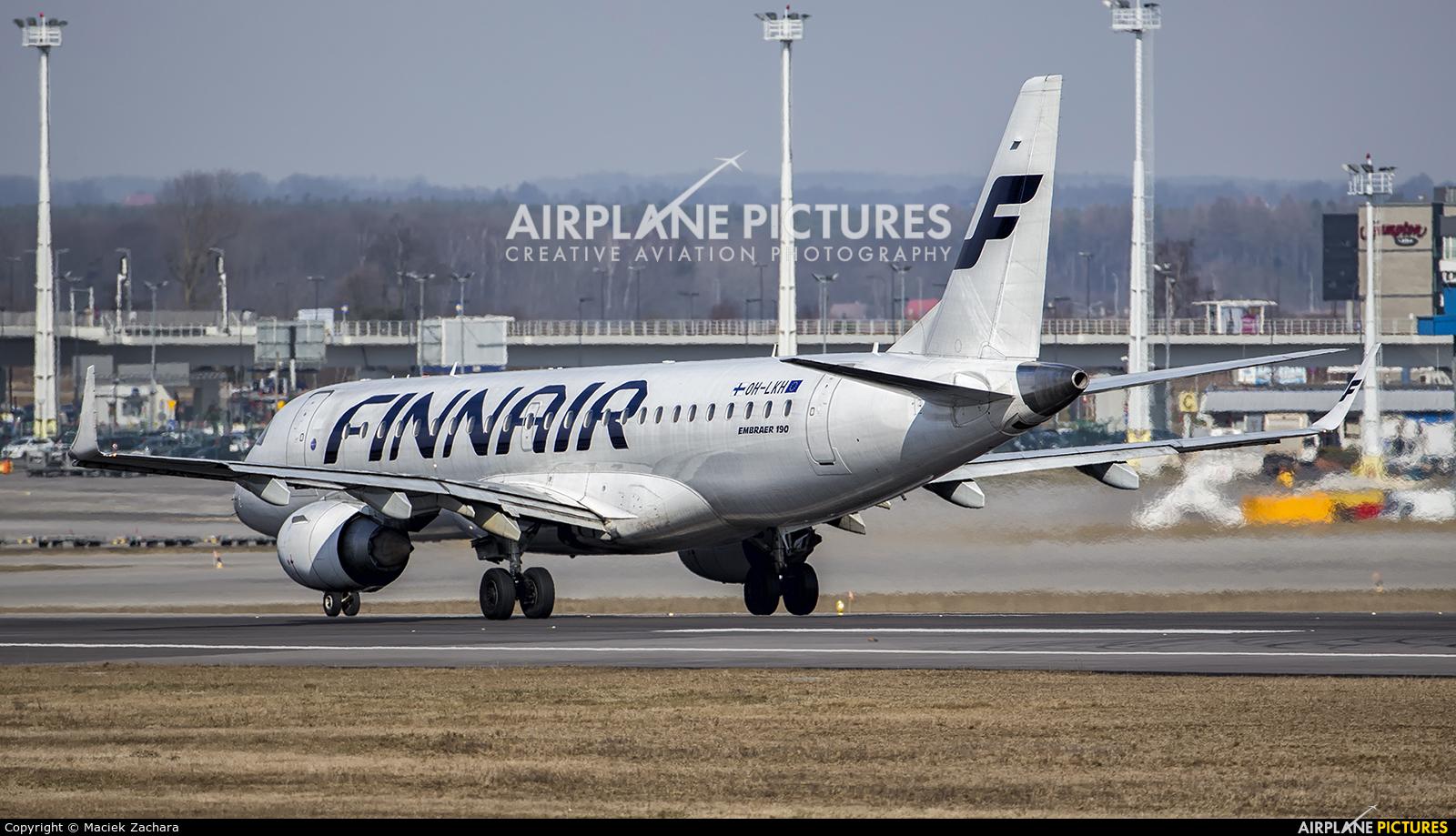 Finnair OH-LKH aircraft at Gdańsk - Lech Wałęsa