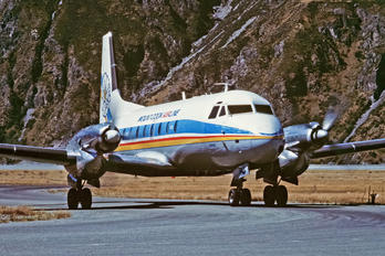 ZK-CWJ - Mount Cook Airlines Hawker Siddeley HS.748