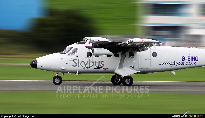 Skybus G-BIHO aircraft at Exeter
