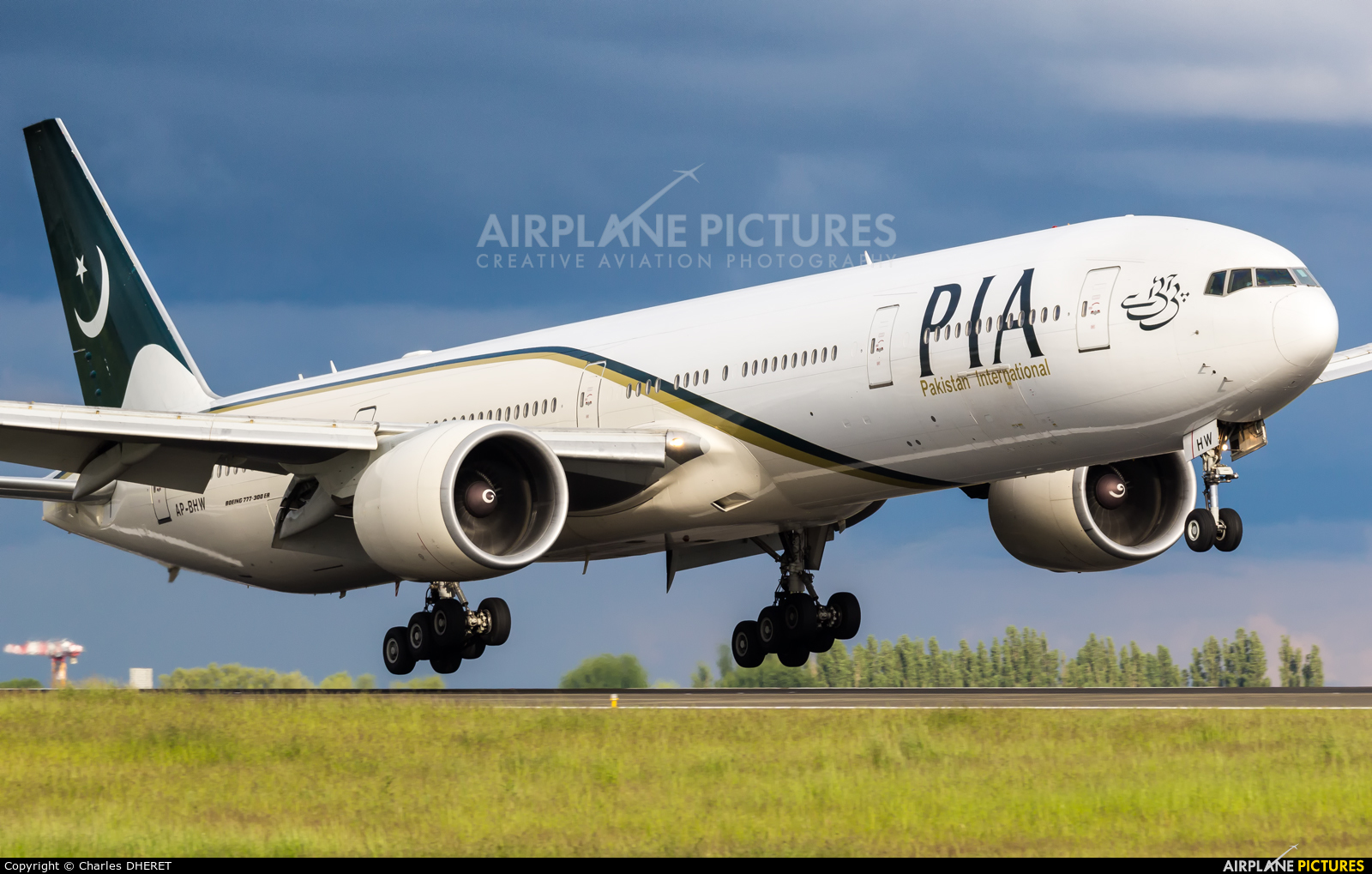 PIA - Pakistan International Airlines AP-BHW aircraft at Paris - Charles de Gaulle