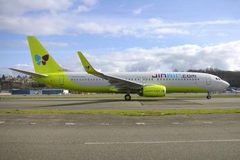 HL8016 - Jin Air Boeing 737-800