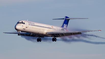 SE-DIR - SAS - Scandinavian Airlines McDonnell Douglas MD-82