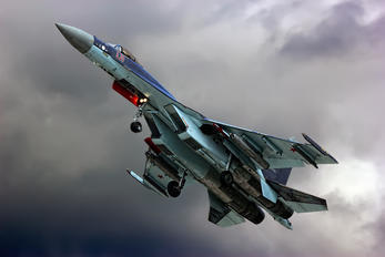 01 RED - Russia - Air Force Sukhoi Su-35