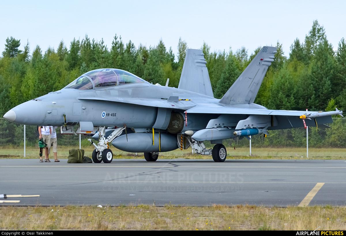 Finland - Air Force HN-446 aircraft at Oulu